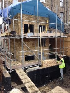 House extension in Hackney