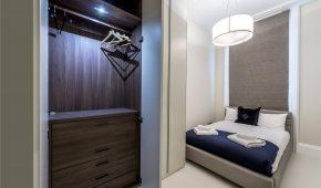 Full Refurbishment Kensington - guest bedroom