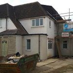 AFL CONSTRUCTION-REAR TWO STOREY EXTENSION IN FINCHLEY, N12, LONDON