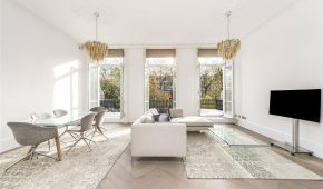 AFL Construction Full Refurbishment Kensington - large living space