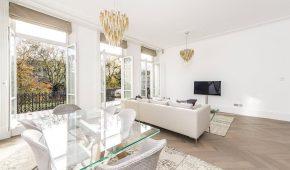 AFL Construction Full Refurbishment Kensington - Living Room