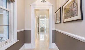 AFL Construction Full Refurbishment Kensington - Hallway Marble Floor