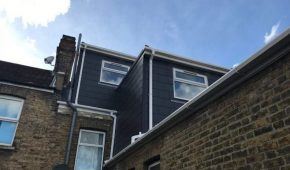 AFL Construction Loft Conversion - Slated Dormers London